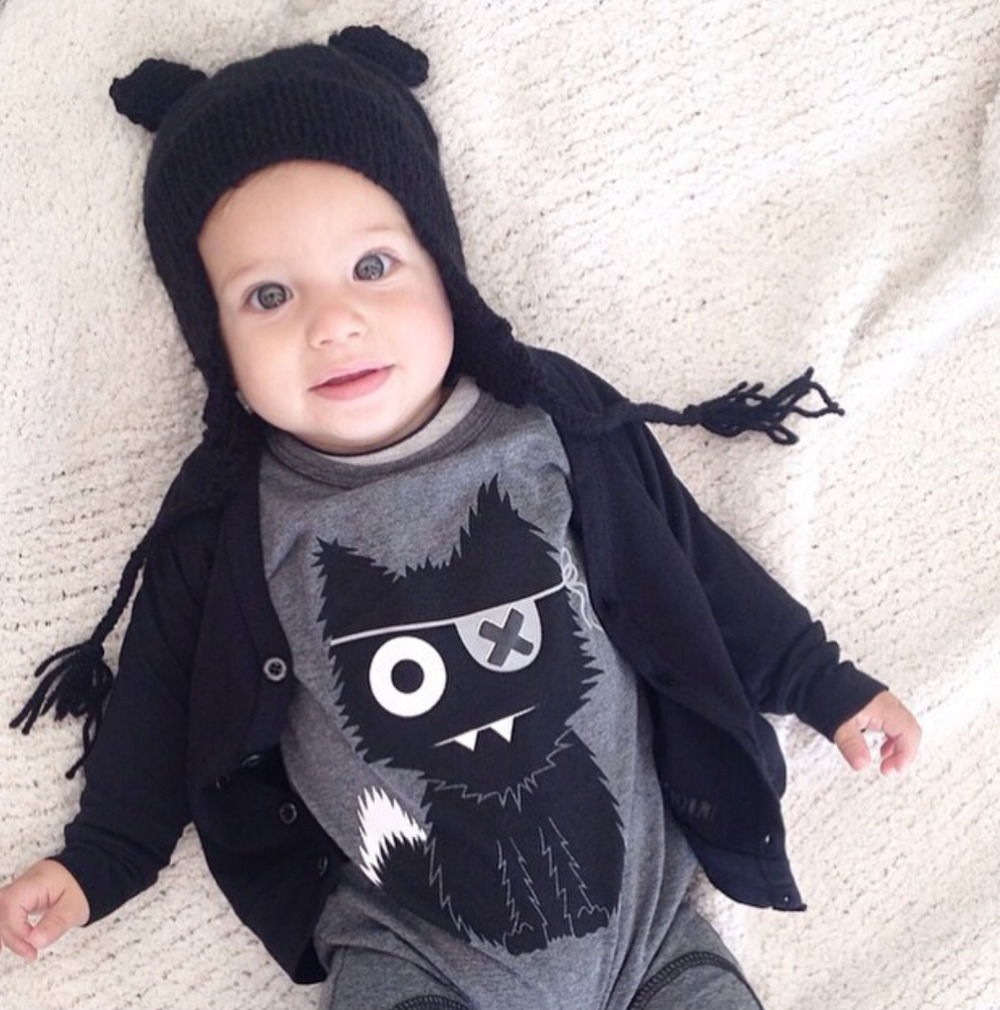 ba8ce8069e4a New 2017 baby rompers baby boy clothing cotton newborn baby girl ...