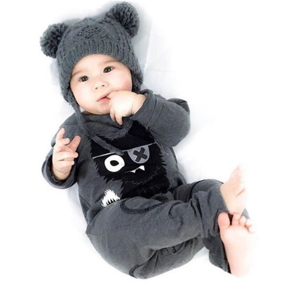 e02d37a631774 New 2017 baby rompers baby boy clothing cotton newborn baby girl clothes  long sleeve cartoon infant newborn jumpsuit